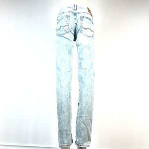 AE slim distressed jeans 30x34